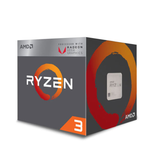 AMD Ryzen 3 3200G with Radeon™ Graphics / 4 cores / 4.0 GHz