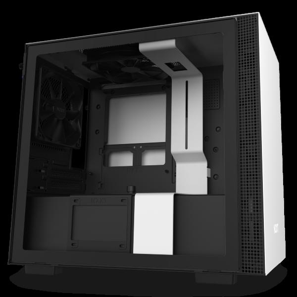 NZXT H210i / CAM-RGB / Tempered Glass - Vit