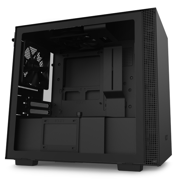 NZXT H210i / CAM-RGB / Tempered Glass - Mattsvart