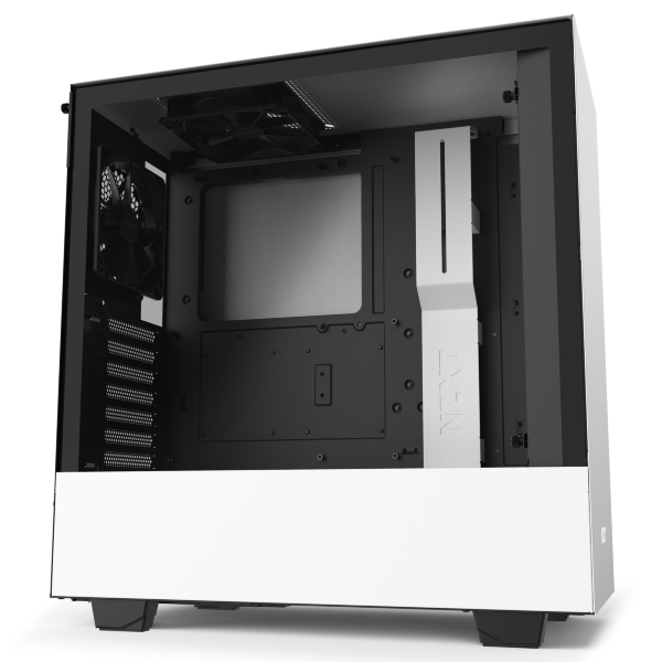 NZXT H510 / Tempered Glass - Vit