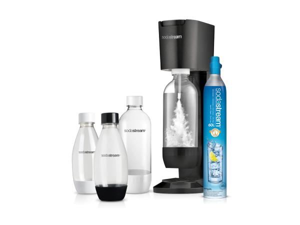 Sodastream Kolsyremaskin Genesis Black Megapack (inkl Gaspatron)