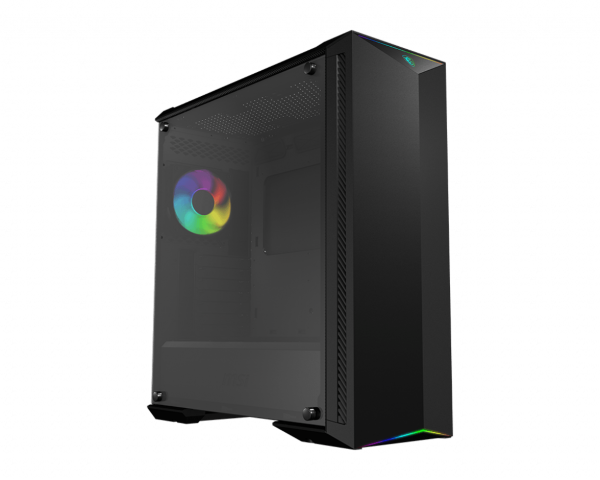 MSI MPG Gungnir 100 / A-RGB / Tempered Glass - Svart