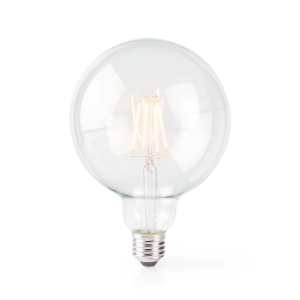 Nedis WiFi Smart LED-lampa / 125 mm / Filament - E27