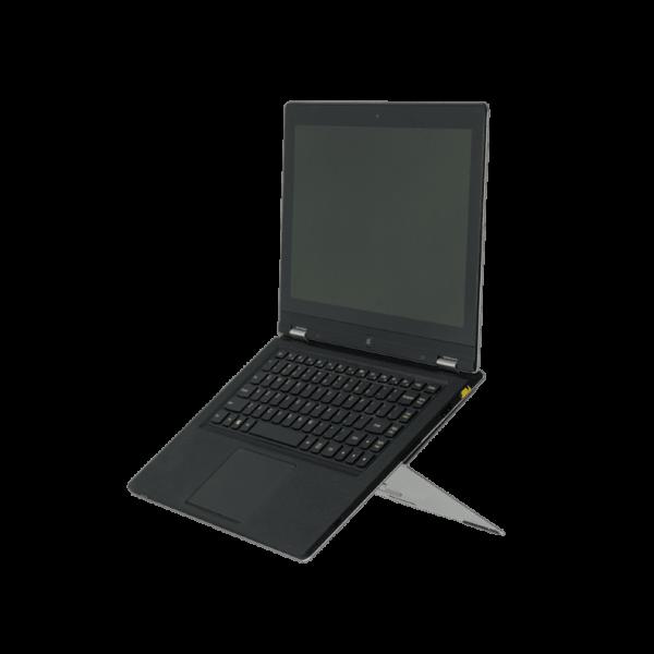 R-Go Riser - Anslutningsbart Ställ för Bärbar Dator - Silver
