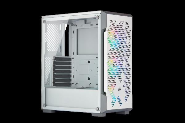 Corsair iCUE 220T Airflow / iCUE-RGB / Tempered Glass - Vit