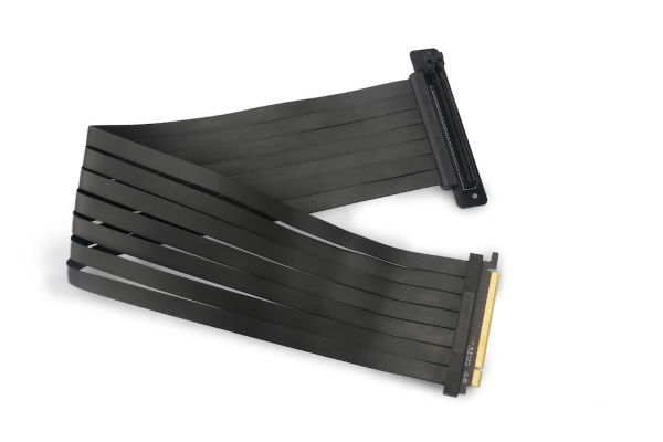Phanteks 600 mm Premium Shielded High speed PCI-E x16 Riser Cable 90°