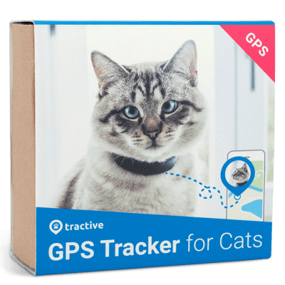 Tractive GPS-tracker för katter
