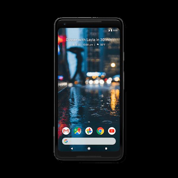 Google Pixel 2 XL / 64GB - Svart (Fyndvara - Klass 1)