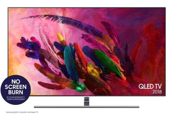 """Samsung 2018 75"""" Q7F 4K UHD Smart QLED TV (Fyndvara - Klass 3)"""