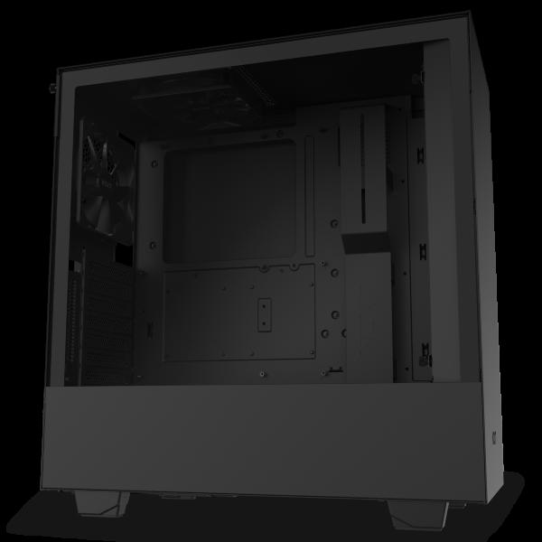 NZXT H510i / CAM-RGB / Tempered Glass - Mattsvart