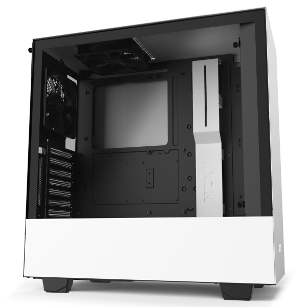 NZXT H510i / CAM-RGB / Tempered Glass - Vit