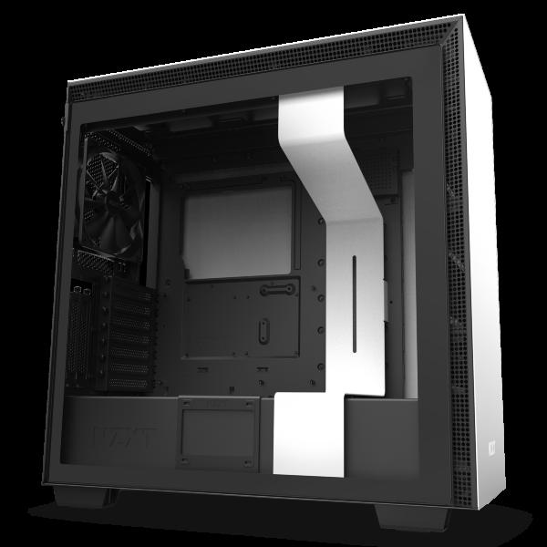 NZXT H710i / CAM-RGB / Tempered Glass - Vit
