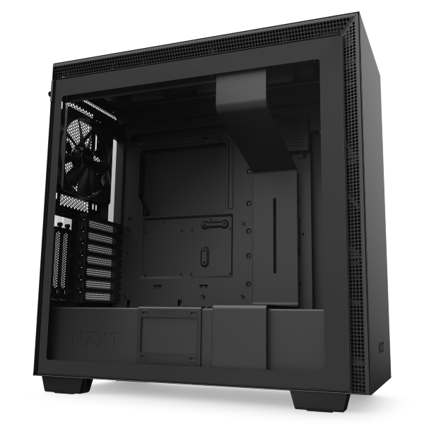 NZXT H710i / CAM-RGB / Tempered Glass - Mattsvart