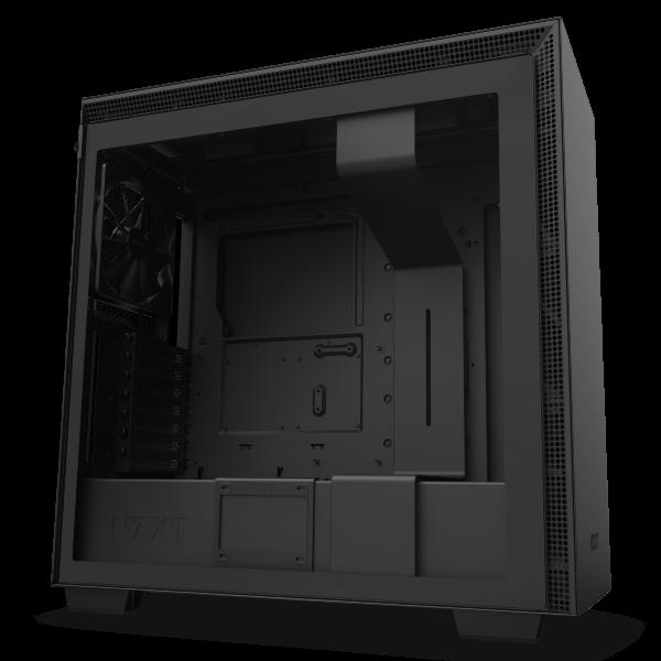 NZXT H710 / Tempered Glass - Mattsvart