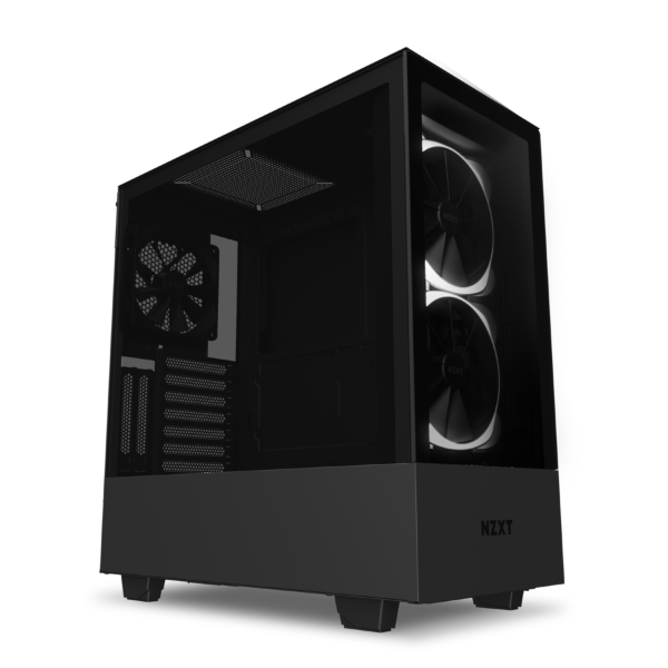 NZXT H510 Elite / CAM-RGB / Tempered Glass - Mattsvart