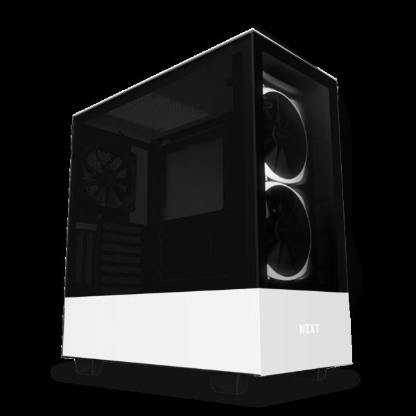 NZXT H510 Elite / CAM-RGB / Tempered Glass - Vit