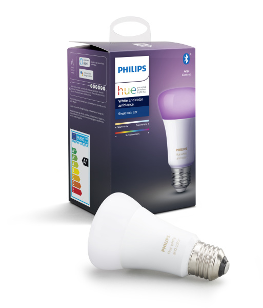 Philips Hue Color E27 BT / 9W / 1-pack