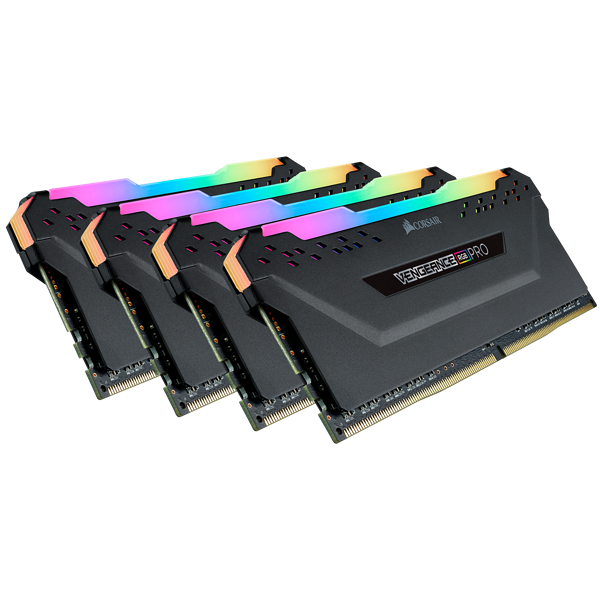 Corsair Vengeance RGB PRO 32GB (4x8GB) / 4266MHz / DDR4 / CL19 / CMW32GX4M4K4266C19