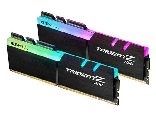 G.Skill Trident Z RGB (2x16GB) / 3200MHz / DDR4 / CL14 / F4-3200C14D-32GTZ (Fyndvara - Klass 1)