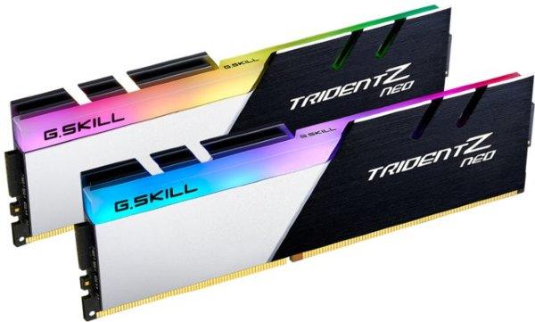 G.SKill Trident Z Neo RGB 32GB (2x16GB) / 3200MHz / DDR4 / CL16 / F4-3200C16D-32GTZN