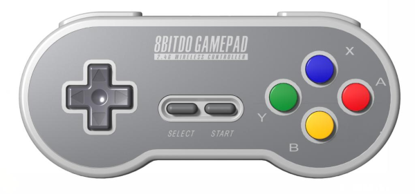 8Bitdo SF30 2.4G Wireless Gamepad (Fyndvara - Klass 1)