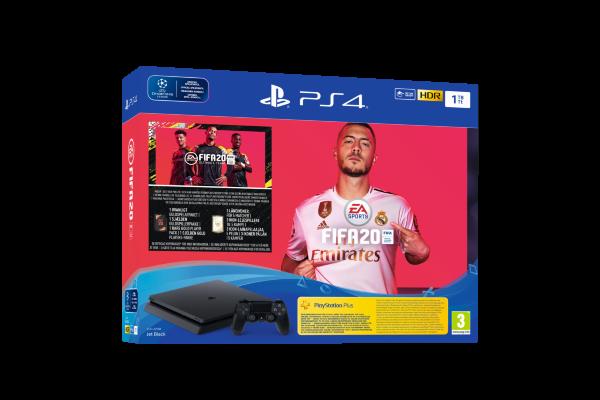 Playstation 4 Konsol (PS4) 1TB Slim - Fifa 20 Bundle