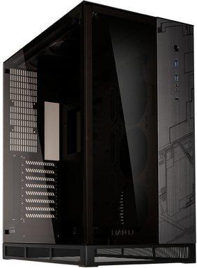 Lian Li PC-O11 Dynamic / ROG Edition / A-RGB / Tempered Glass - Svart