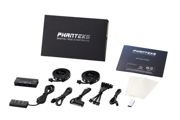 Phanteks Digital -A-RGB LED Starter Kit