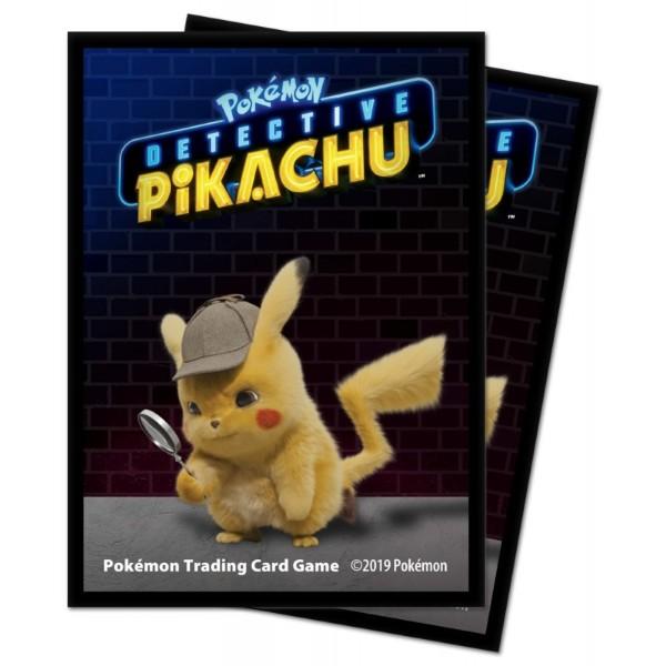 Pokemon Deck Protector Sleeves - Detective Pikachu