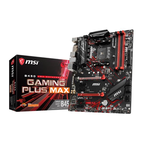 MSI B450 Gaming Plus Max - ATX / B450
