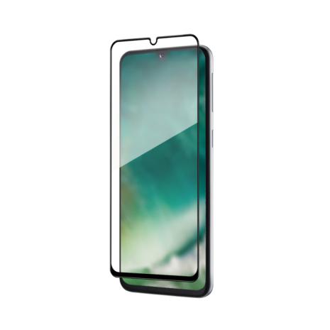 Samsung Galaxy A40 / XQISIT Tough Glass CF – Clear