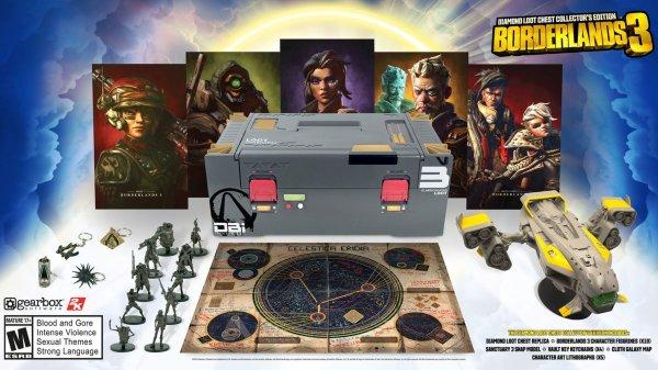 Borderlands 3 Diamond Chest Collectors Edition (Xbox One)