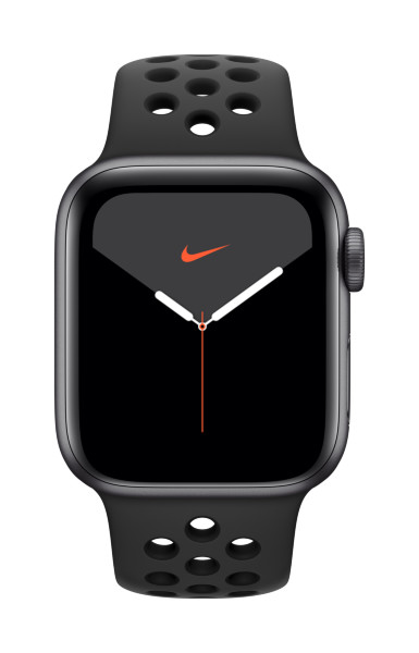 Apple Watch Nike Series 5 GPS + Cellular, 40mm Space Grey Aluminium Case with Anthracite/Black Nike