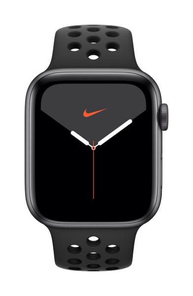 Apple Watch Nike Series 5 GPS + Cellular, 44mm Space Grey Aluminium Case with Anthracite/Black Nike