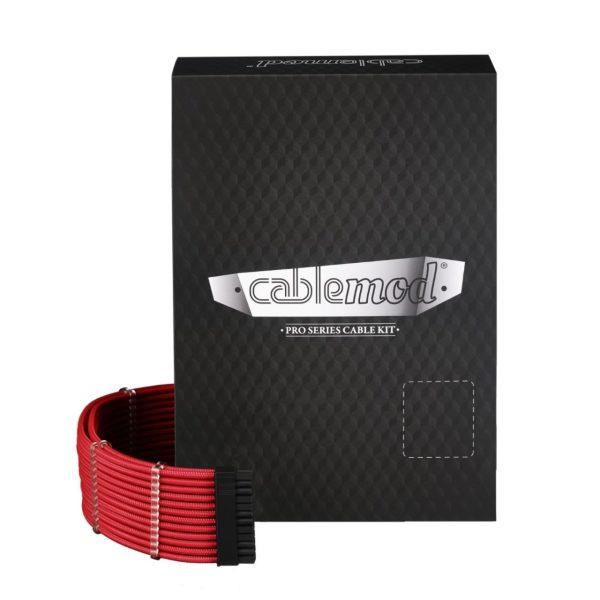 CableMod PRO ModMesh RT-Series ROG / Seasonic Cable Kit – Red