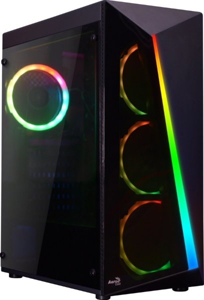 Aerocool Shard / A-RGB / Tempered Glass