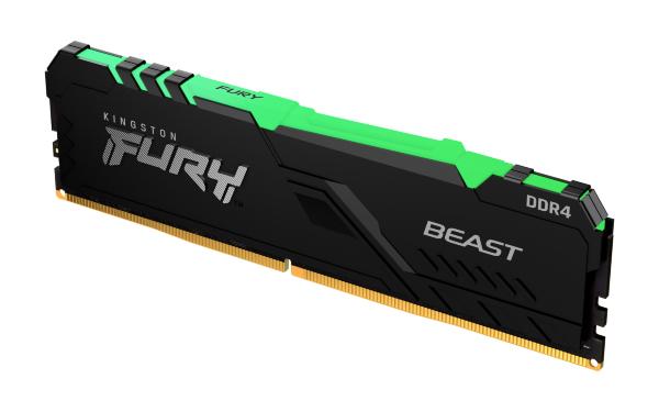 HyperX Fury RGB 16GB (1x16GB) / 3200MHz / DDR4 / CL16 / HX432C16FB3A/16