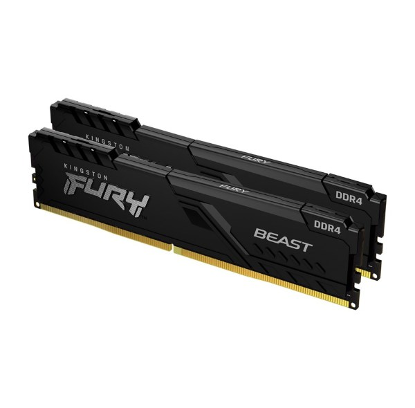 HyperX Fury Black 8GB (2x4GB) / 3200MHz / DDR4 / CL16 / HX432C16FB3K2/8