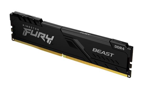 HyperX Fury Black 8GB (1x8GB) / 3200MHz / DDR4 / CL16 / HX432C16FB3/8