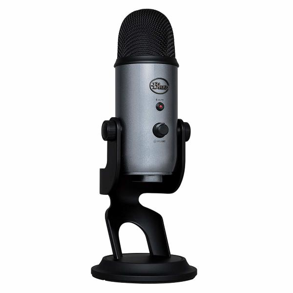 Blue Yeti Lunar Grey