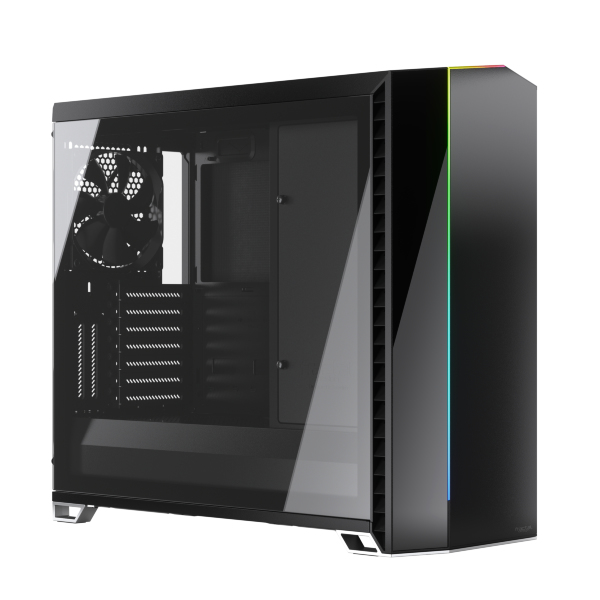 Fractal Design Vector RS / A-RGB / Tempered Glass - Svart
