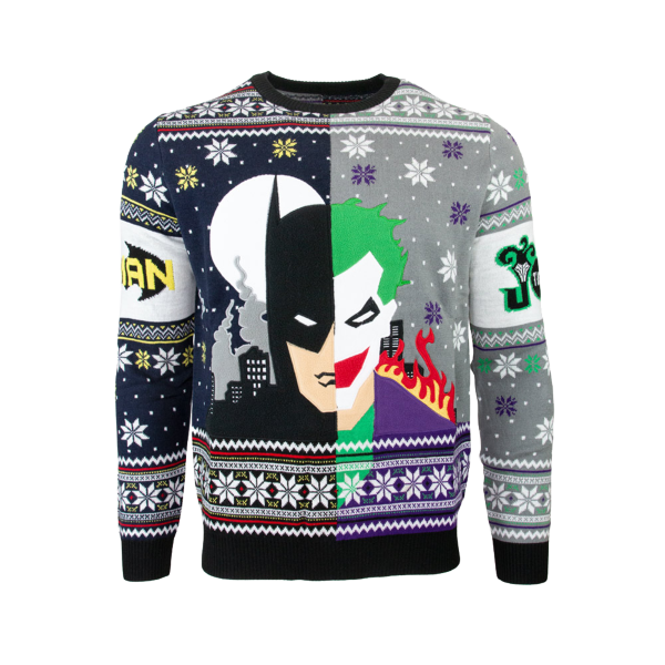 Jultröja - Batman VS Joker Christmas (L)
