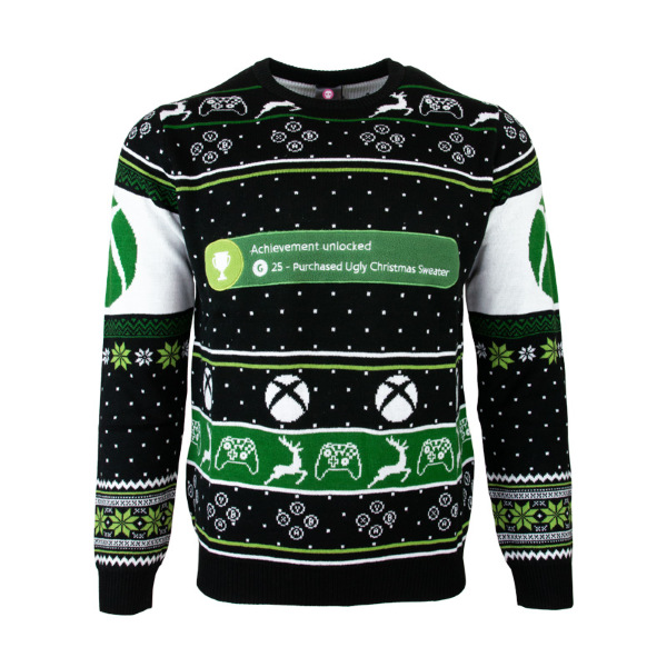 Jultröja - Xbox One Achievement Unlocked Christmas (XL)