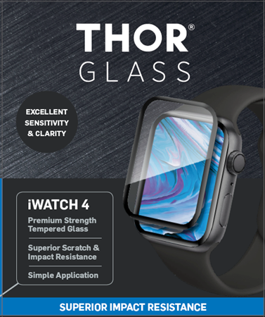 Thor iWatch Series 4 Tempered Glass Protector 44mm