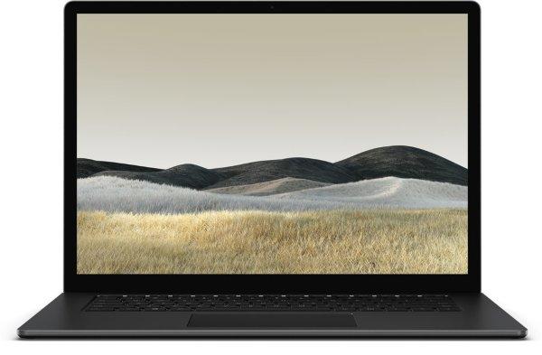 Microsoft Surface Laptop 3 / 15 / Touch / R5-3500U / 8GB / 256GB SSD / Vega 8 / Win 10 – Svart