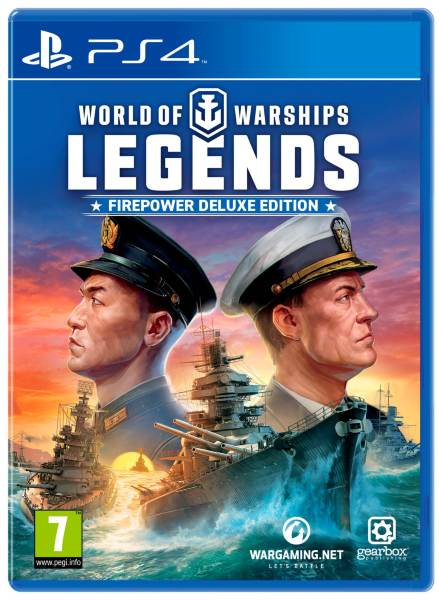 World of Warships: Legends - Firepower Deluxe Edition