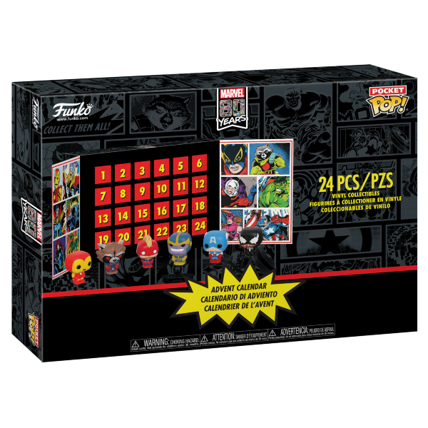 Funko Pop! Marvel Adventskalender