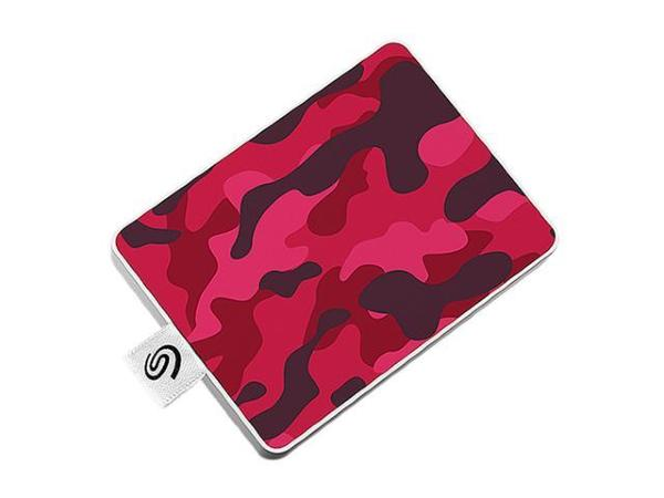 Seagate One Touch SSD 500GB – Röd Camo