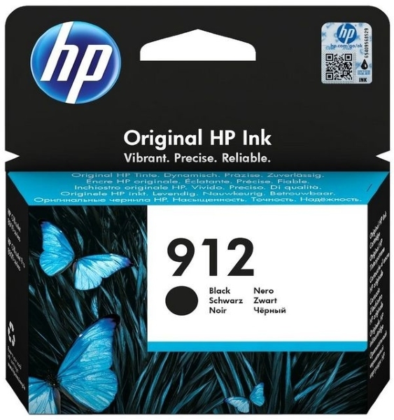 HP 912 (3YL80AE) - Svart