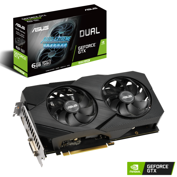 ASUS GeForce GTX 1660 Super 6GB DUAL EVO OC
